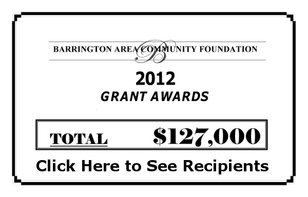 Click to see 2012 Grant Award Receipients